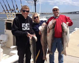 Sandy hook nj fishing reports and videos reel fun sportfishing for Sandy hook fishing report
