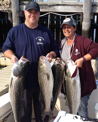 Dave and Angie Stripers