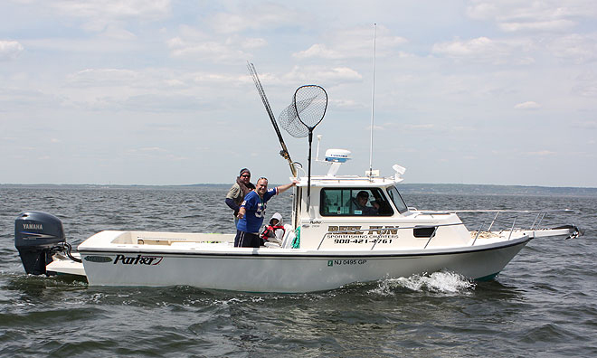 Reel Fun - The Perfect Striper Boat